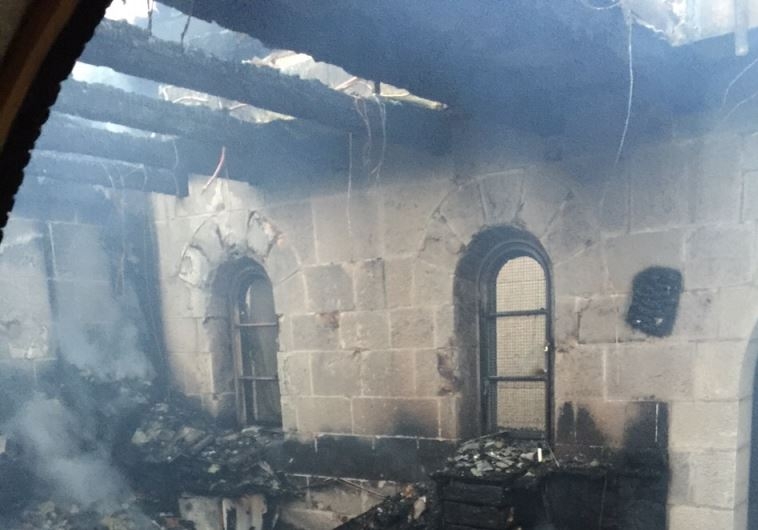 Church of the Multiplication following suspected arson