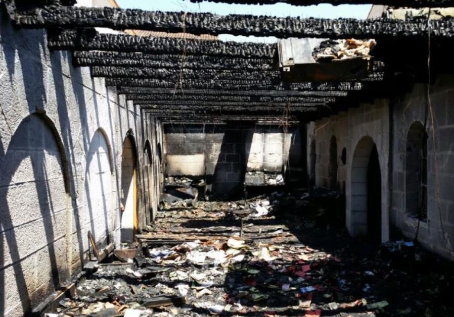 Arson on Church