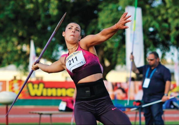 Israeli javelin thrower Margaryta Dorozhon
