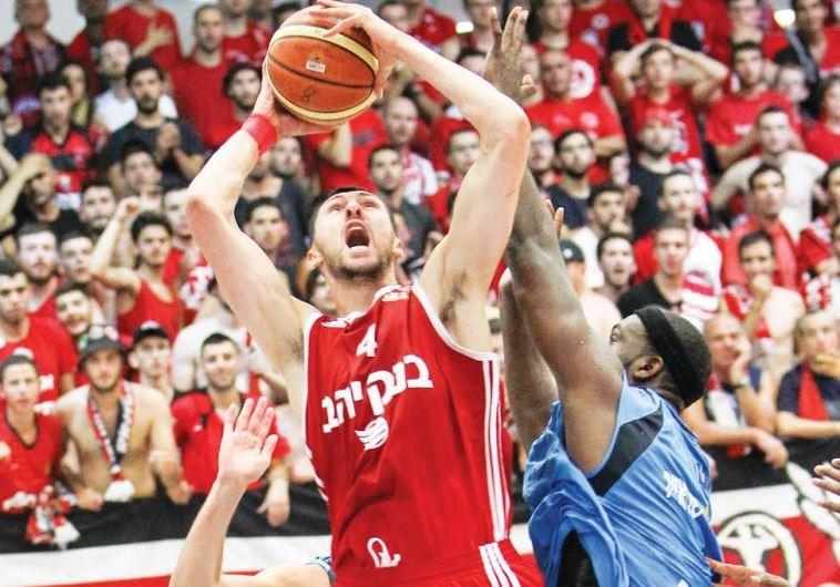 Hapoel Jerusalem's Tony Gaffney