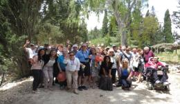 JNF USA solidarity delegation in Northern Israel, May 2015. Photo: Yoav Devir