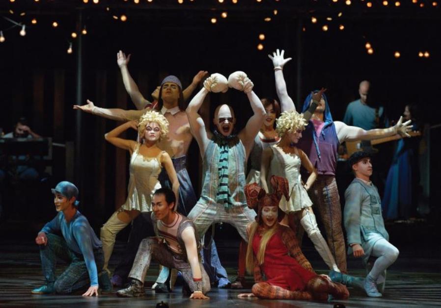 Cirque du Soleil Israel