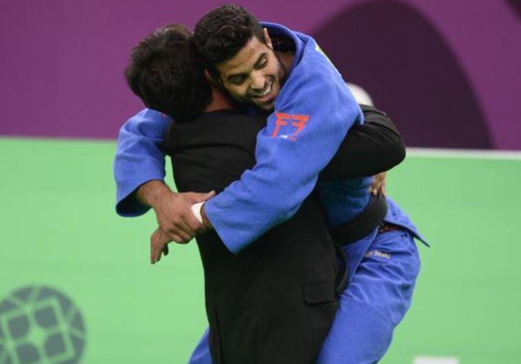 Israeli judoka Sagi Muki wins the gold medal in Baku