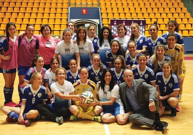 Israel's u-19 national women team players