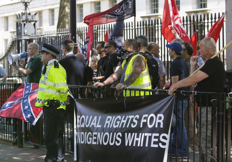 Anti-Jewish protest in London fizzles