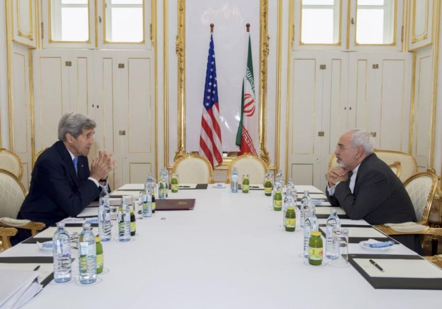Kerry and Zarif in Vienna