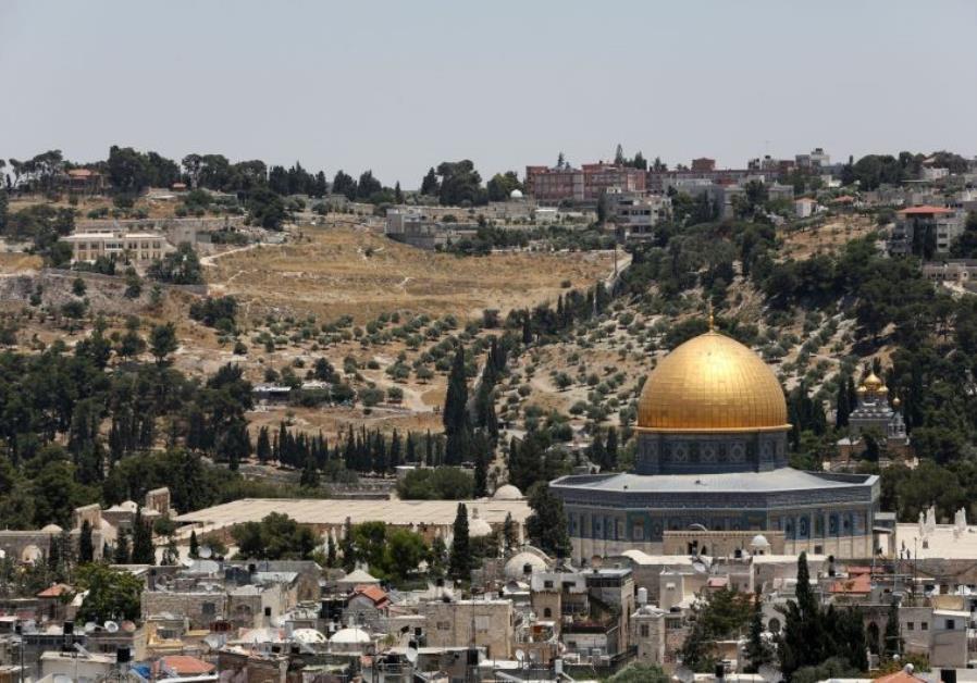 temple mount jerusalem Jerusalem Post