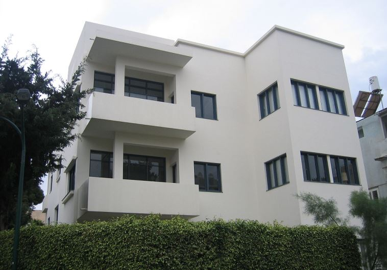 Bauhaus building in Tel Aviv