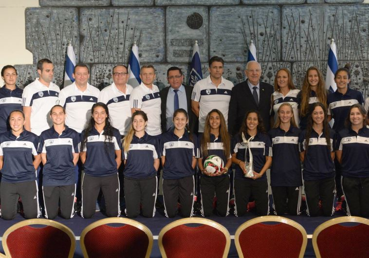 Israeli women's football team