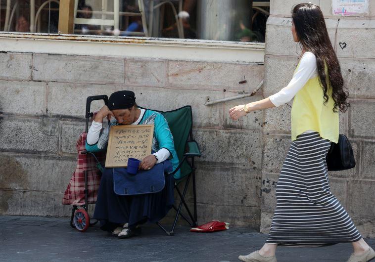 Beggar in Jerusalem