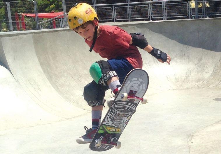 Skateboarders in Jerusalem