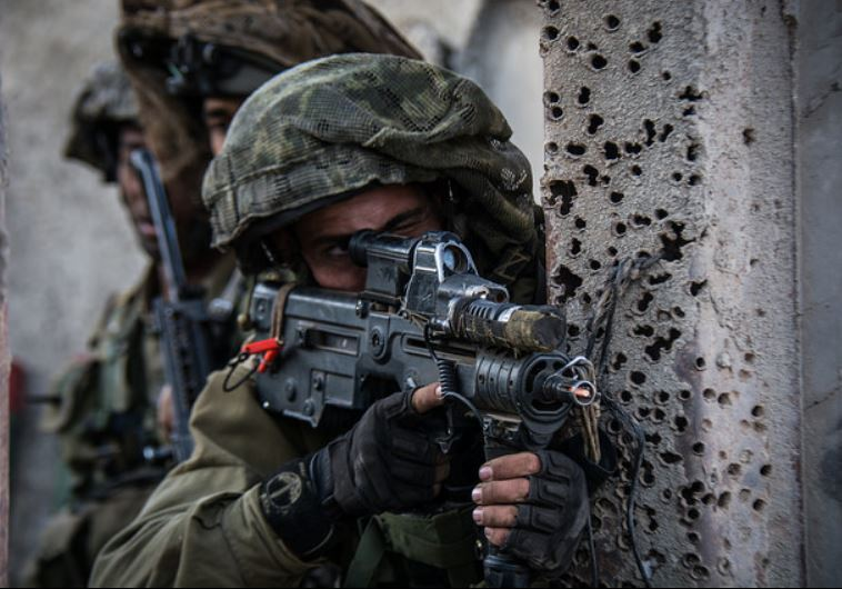 The Givati Brigade's Tzabar Battalion practices complex maneuvers in an urban warfare environment