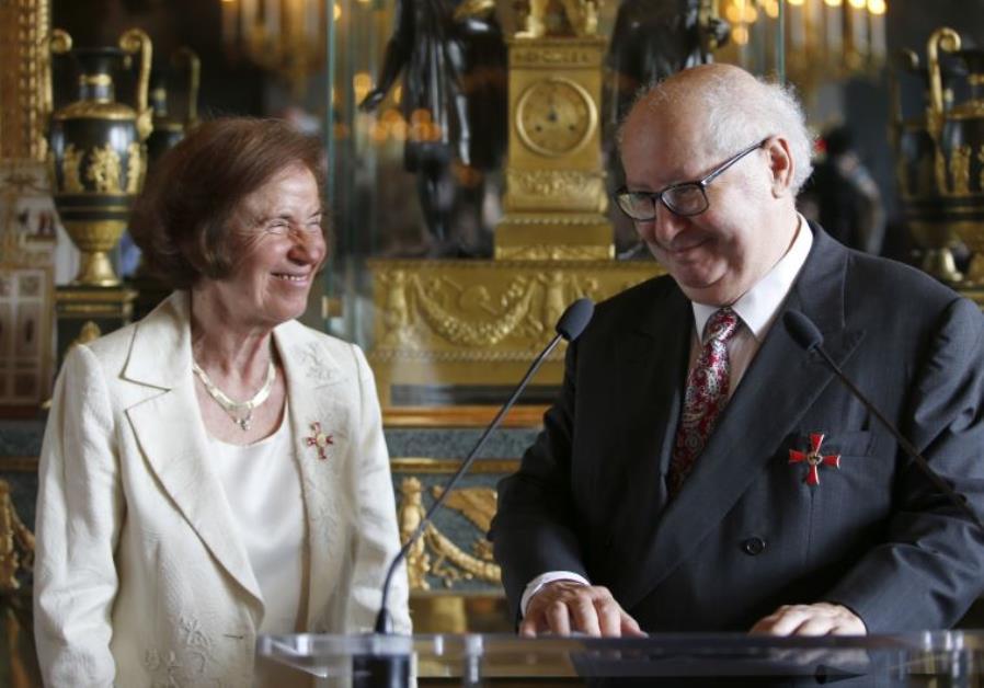 Nazi hunters Beate Klarsfeld and her husband Serge Klarsfeld
