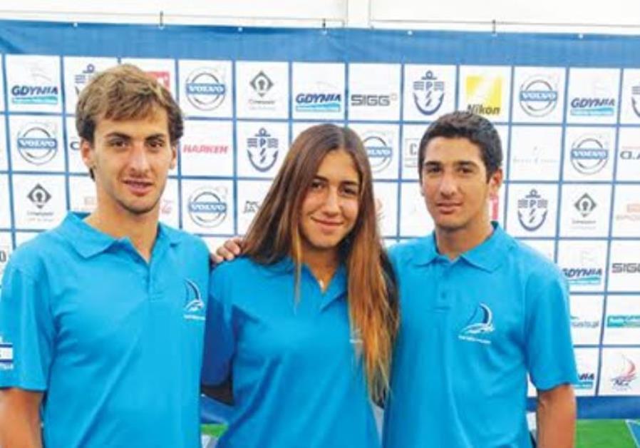 Israeli youth windsurfing Worlds medalists