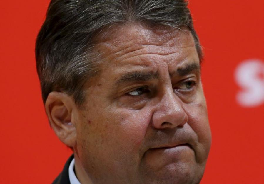 German Social Democratic Party (SPD) leader and Economy Minister Sigmar Gabriel