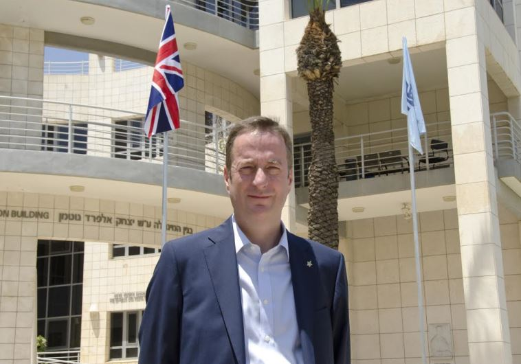 British Ambassador to Israel David Quarrey