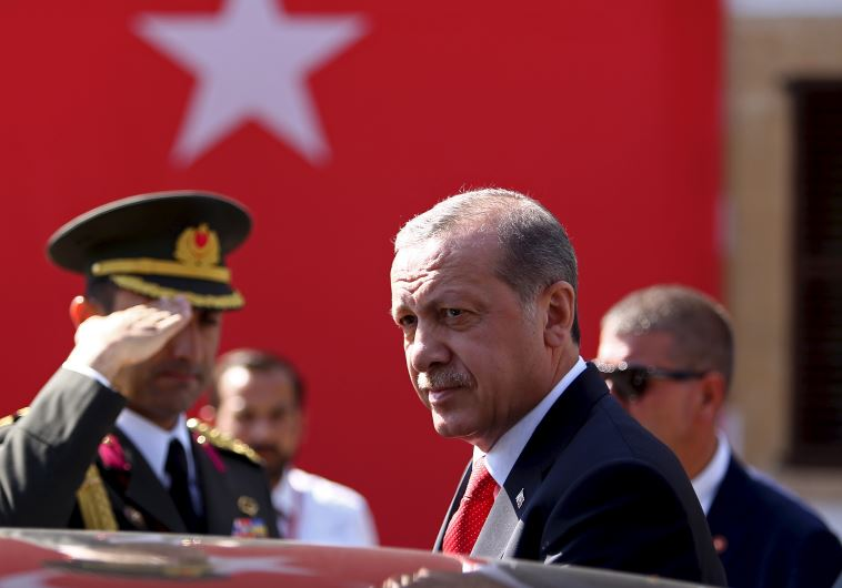 Turkish President Recep Tayyip Erdogan visits North Cyprus
