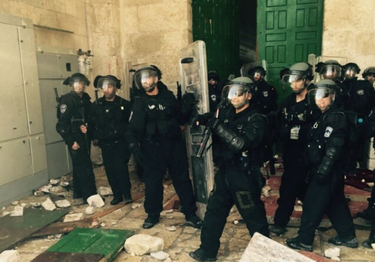 Riots at Temple Mount