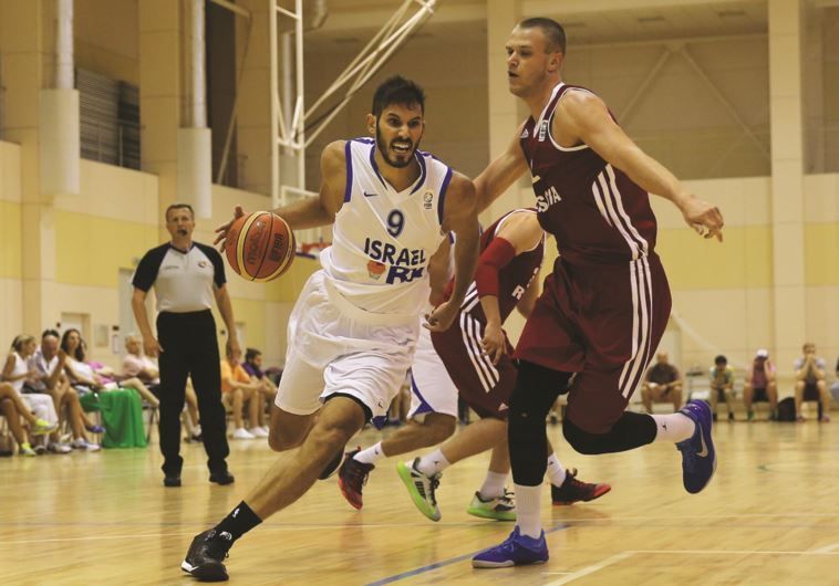 Omri Casspi (9) will once again be expected to lead the Israel national team