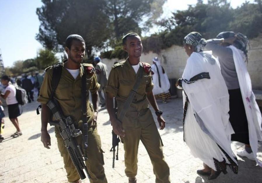 ethiopian israeli soldiers