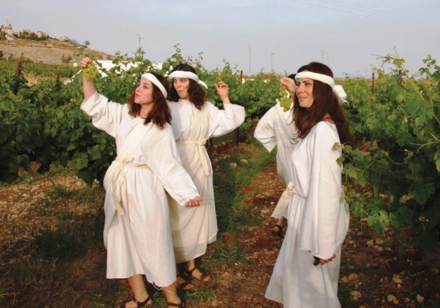 The annual Dancing in the Vineyard biblical festival