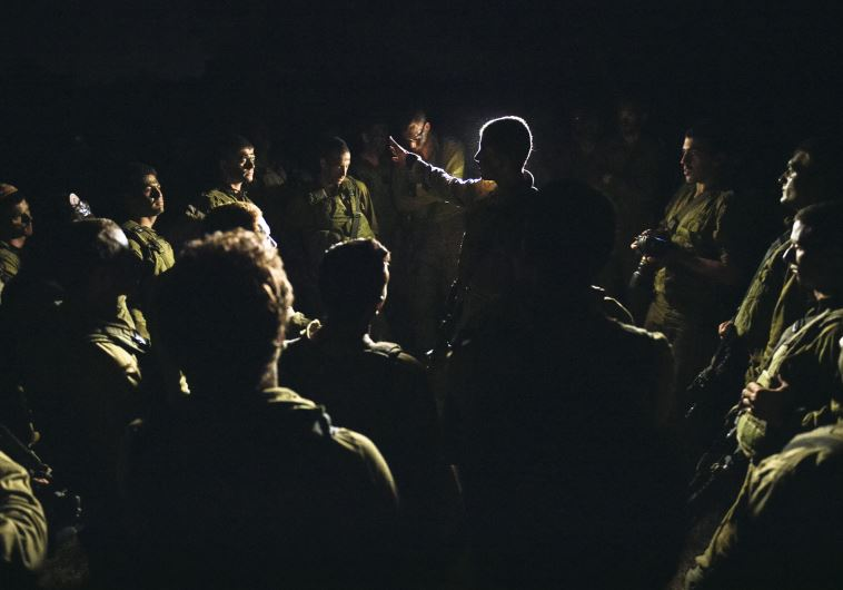 IDF troops prepare to enter Gaza
