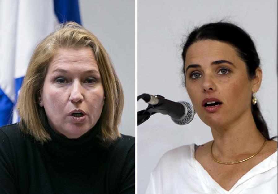 Tzipi Livni Ayelet Shaked