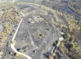 Ariel view of Beit Shemesh archeological site
