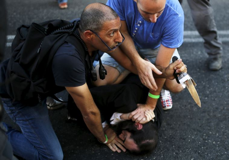 Angriff auf der Jerusalem Gay Pride Parade