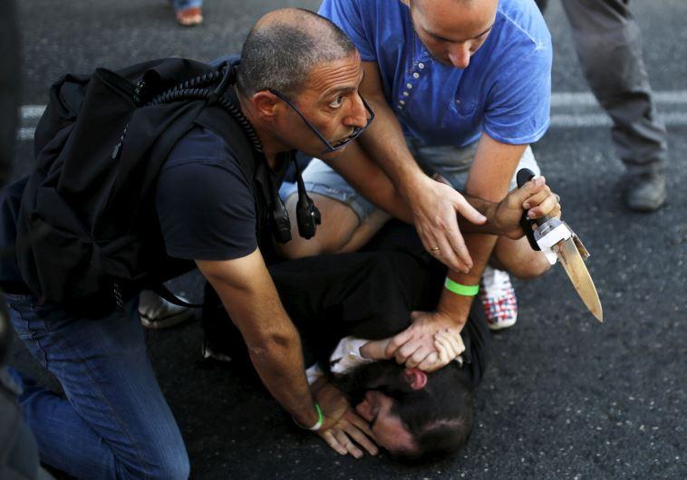 Attack at Jerusalem Gay Pride Parade
