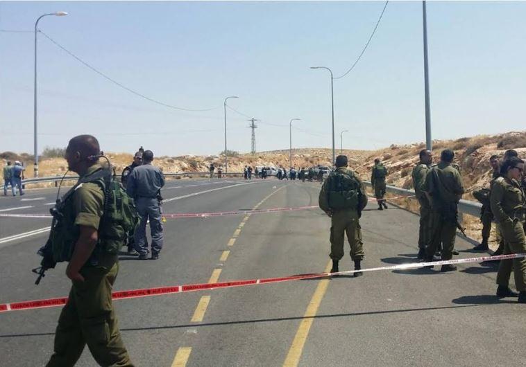 Judea and Samaria road