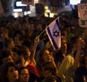 Anti violence rally in Tel Aviv
