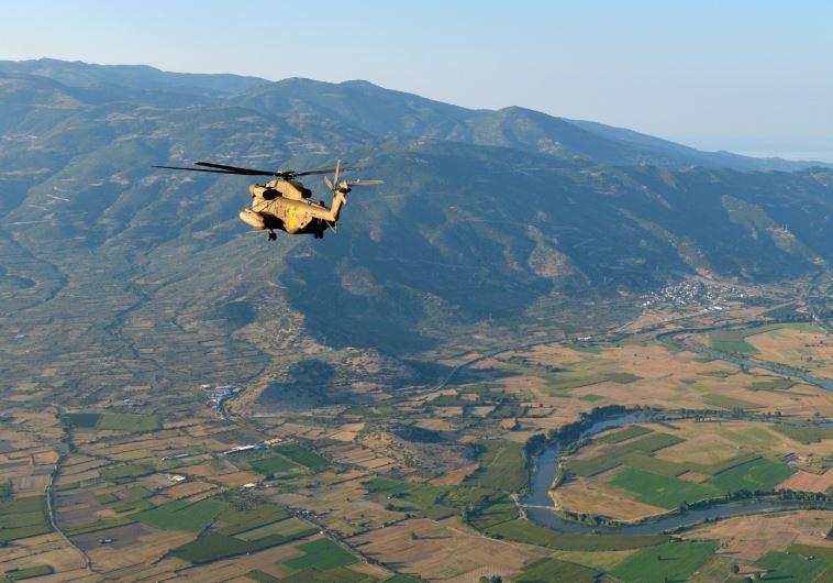 Israeli transport Helicopter