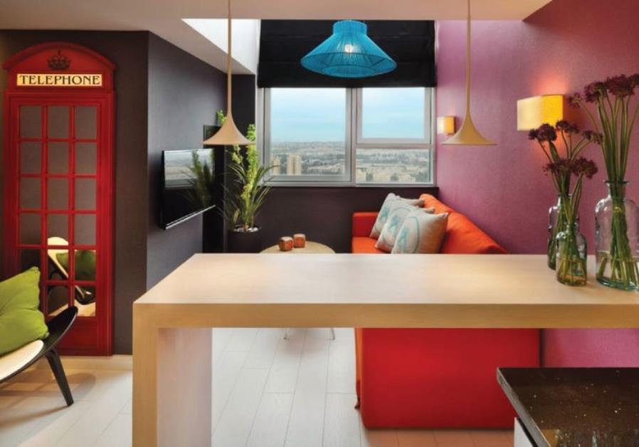 Accommodation make yourself at home israel news for Hotel design jerusalem