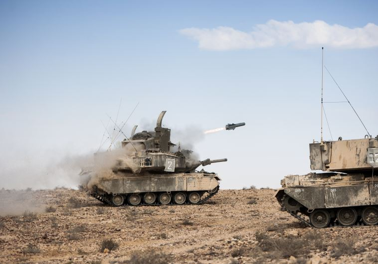 In North and South, IDF's 'Pere' platform can hurl Tamuz missiles at targets 30 km away