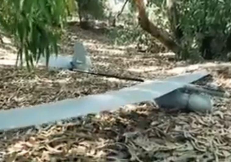 Reconstucted Israeli drone according to Hamas
