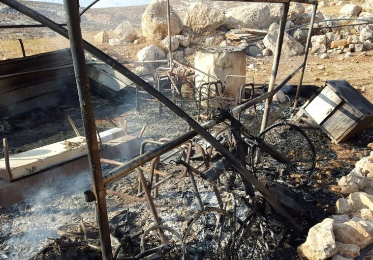 Arson attack Israel