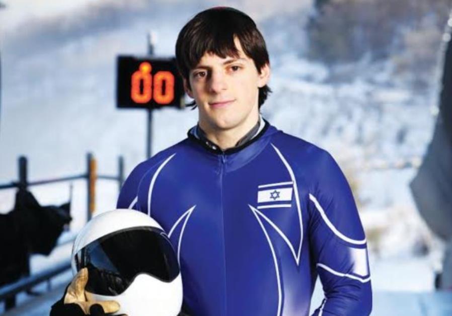 ISRAEL's ONLY active skeleton athlete, A.J. Edelman