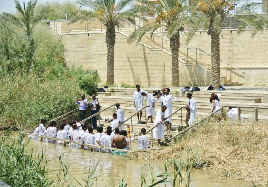 04238b55fd455d Region s baptism sites a bridge completing the Holy Land pilgrimage ...