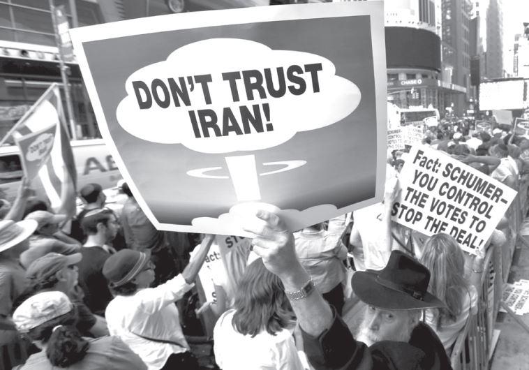 Anti-Iran protest
