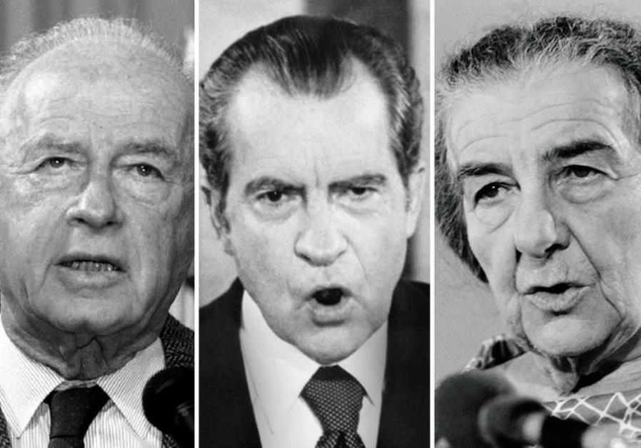 Richard Nixon Golda Meir