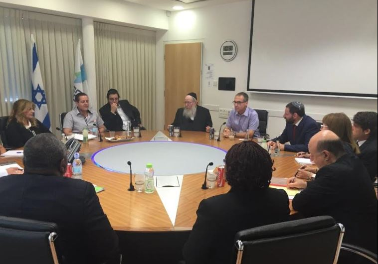 Health Ministry officials from Israel and the Ivory Coast meet in Jerusalem