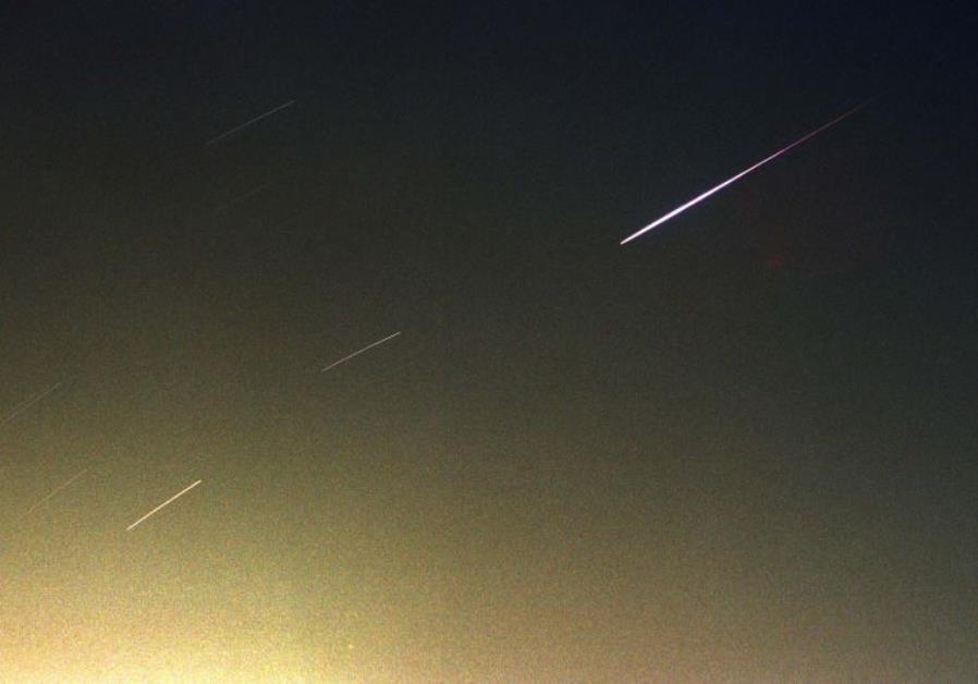 Meteor shower Israel