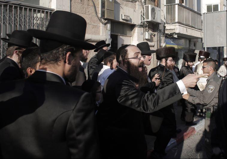 Shabbat demonstration