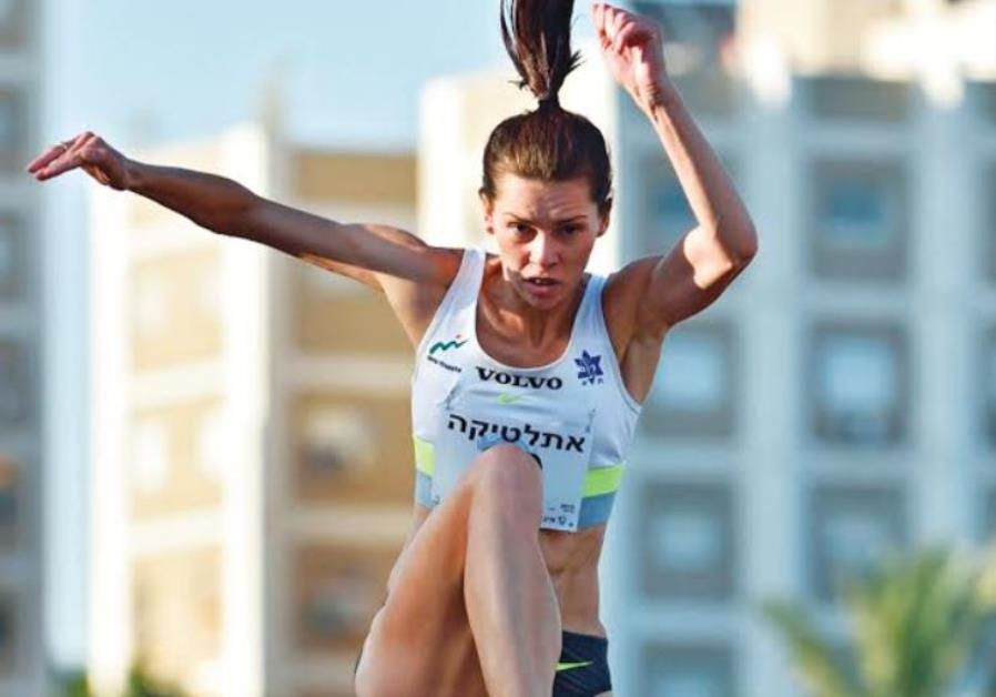 Israel's triple-jumper Hanna Knyazyeva-Minenko