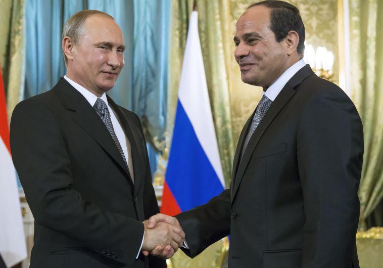 Vladimir Putin and Abdel Fatteh al-Sisi
