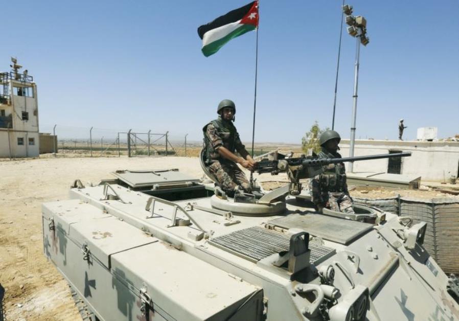 Jordanian-Syrian border