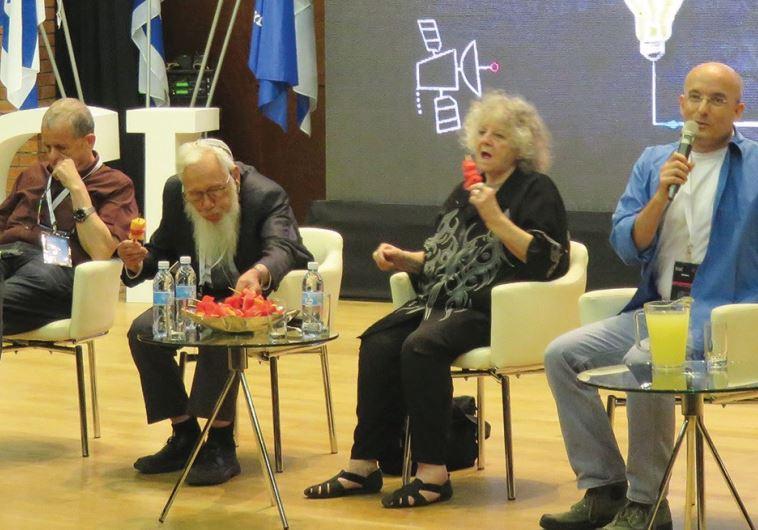 PROF. AARON CIECHANOVER, Prof. Robert (Yisrael) Aumann and Prof. Ada Yonath