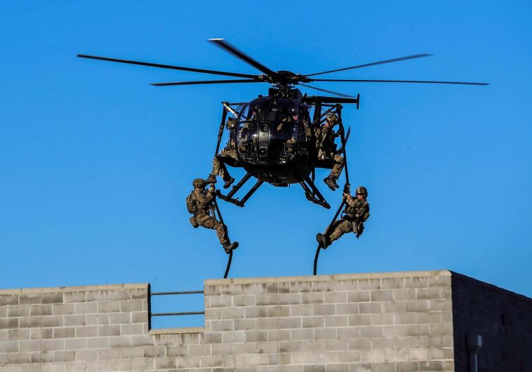 US special forces in action