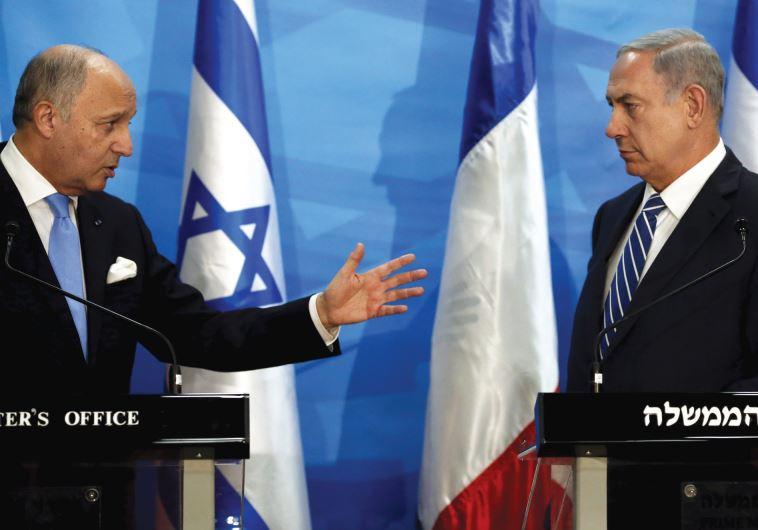 Laurent Fabius Israel